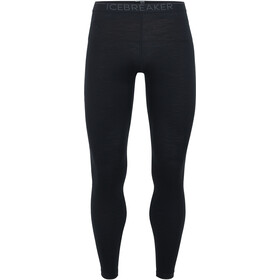 Icebreaker 200 Oasis Leggings Herre black/monsoon